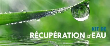 Kit de récupération d'eau